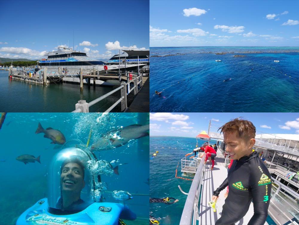 澳洲|凱恩斯大堡礁一日遊 – 豪華銀梭號Quicksilver前進世界最大珊瑚礁及夢幻海底世界