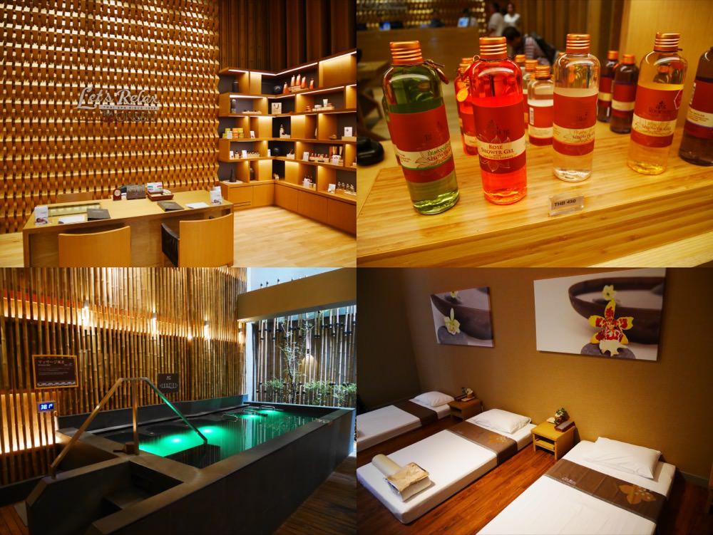 曼谷|按摩推薦 Let's Relax SPA & ONSEN Thonglor分店 – 隱藏於Grande Centre Point Sukhumvit 55飯店,完美結合泰式按摩及日式溫泉的SPA水療中心