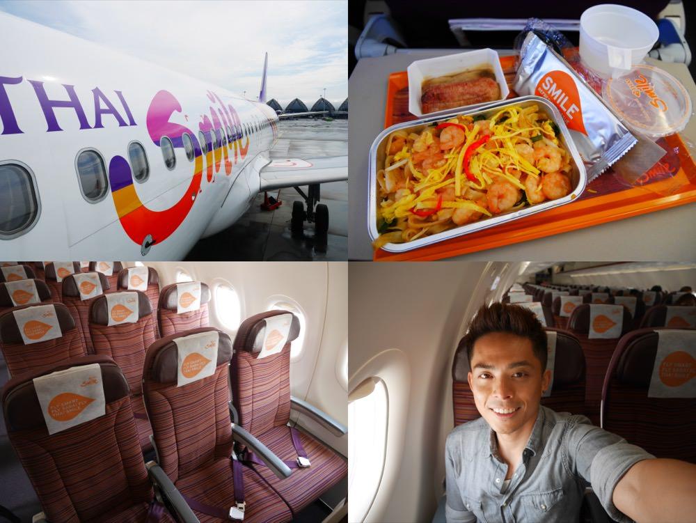 曼谷|泰國微笑航空 THAI Smile  – 高雄直飛曼谷首航紀錄、飛機時段、餐點座位介紹