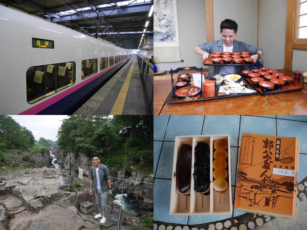 日本東北 岩手縣一日遊,景點美食推薦 – 嚴美溪、郭公屋飛天糰子、芭蕉館小碗蕎麥麵