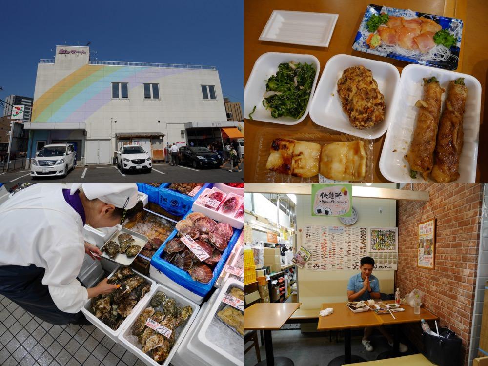 日本東北|青森弘前彩虹市場(虹のマート)- 弘前站附近最新鮮的食材、最道地的美味