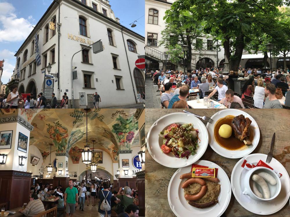 德國|慕尼黑 HOFBRAUHAUS 皇家啤酒屋 – 世界最大啤酒屋、傳統美食氣氛佳,但人手不足、服務態度差,純屬個人經驗分享!