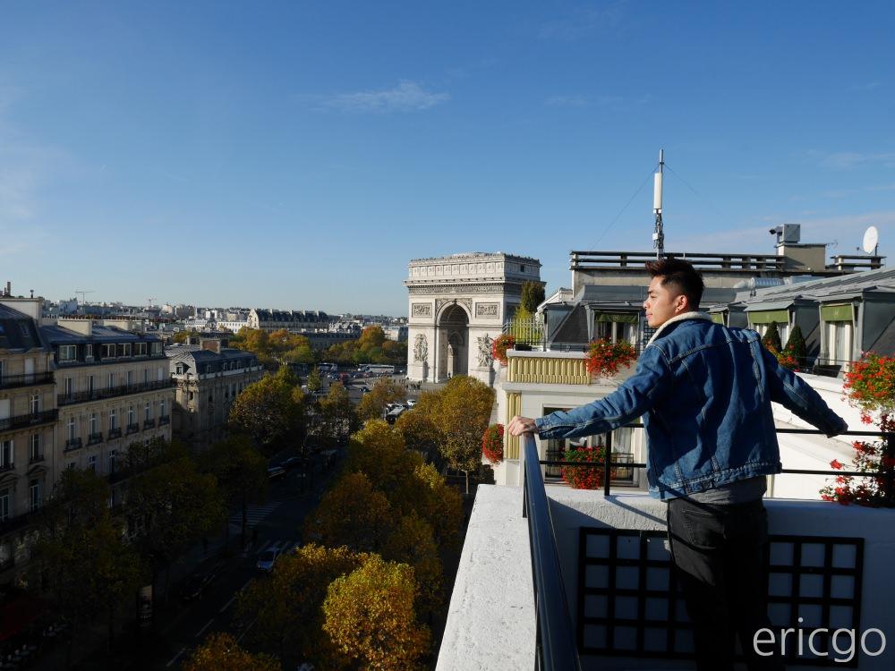 巴黎|Hotel Napoleon Paris 巴黎拿破崙飯店 – 凱旋門、香榭麗舍大道旁,古典華麗巴黎五星級酒店住宿推薦