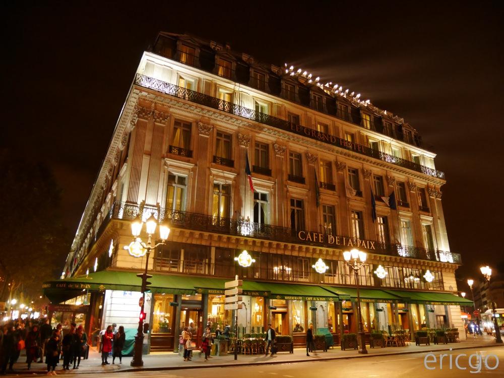 巴黎|和平咖啡館 CAFE DE LA PAIX – 走進法國歷史美好年代,海鮮盤、法式洋蔥湯、千層派,享受法式美食饗宴!