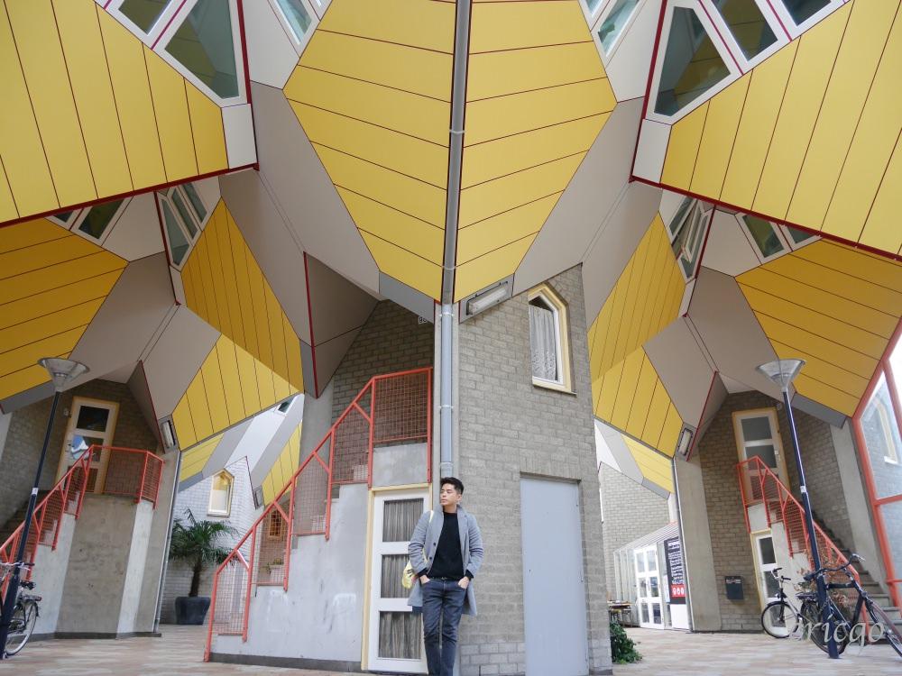 荷蘭|鹿特丹 Kijk-Kubus 方塊屋 – 鹿特丹必訪第一名景點,幾何線條與立方體構成的奇特建築,內部設計參觀大公開!