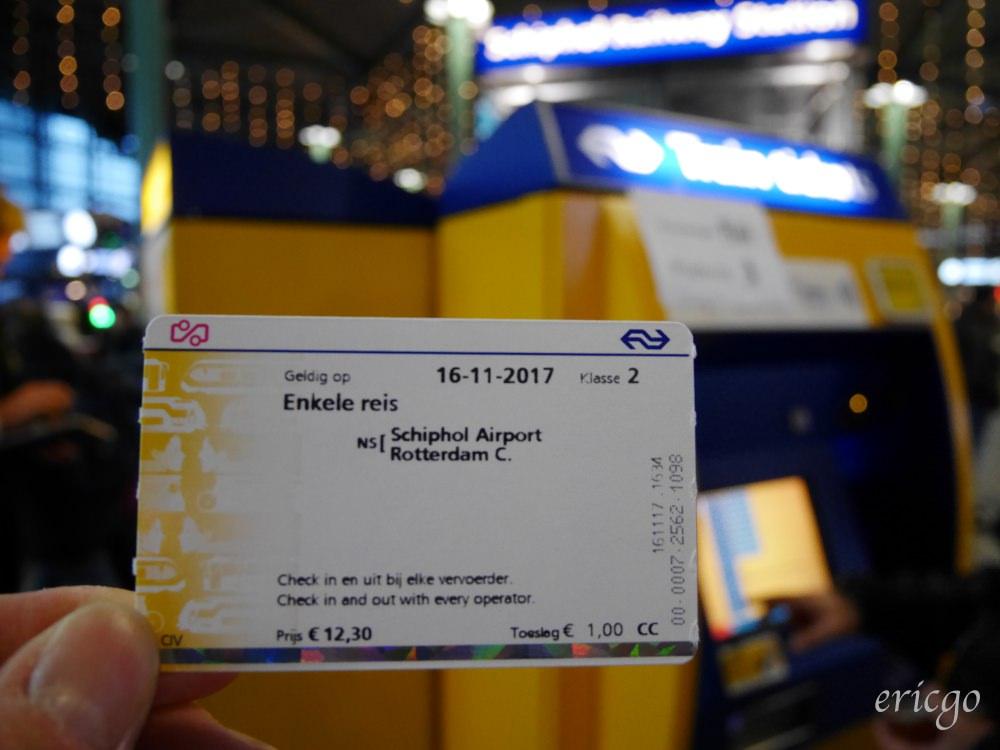 荷蘭|荷蘭自由行 阿姆斯特丹史基浦機場 AMS ( Amsterdam Airport Schiphol ) – 如何從機場買車票搭火車前往阿姆斯特丹、鹿特丹市區?