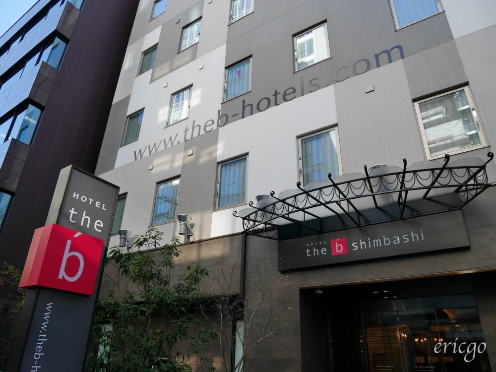 東京|the b Hotel 東京新橋飯店 – 2017年9月新開幕 ,JR 山手線新橋站住宿推薦