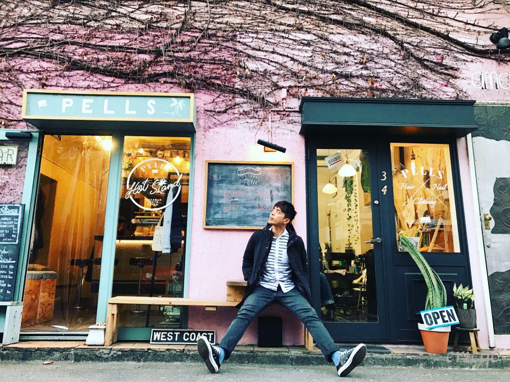 東京|澀谷咖啡廳推薦 Hot Stand Pells – 隱藏在澀谷巷弄間的IG打卡粉紅植物牆