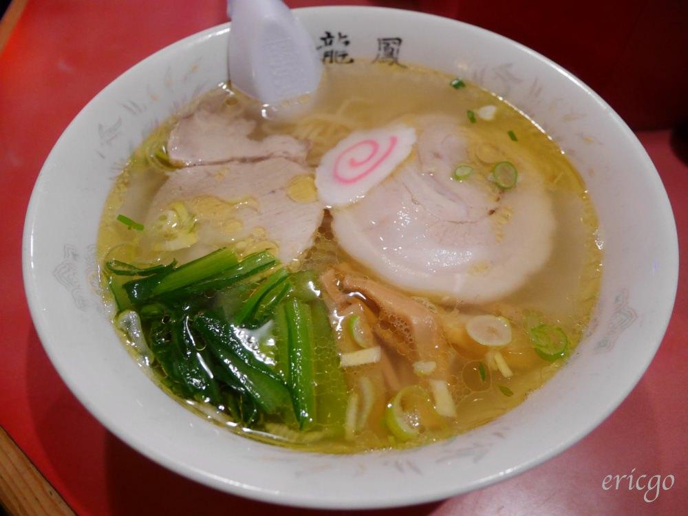北海道、函館|龍鳳拉麵 – 函館必吃鹽味拉麵,大門橫丁裡的名物「黃金鹽拉麵」