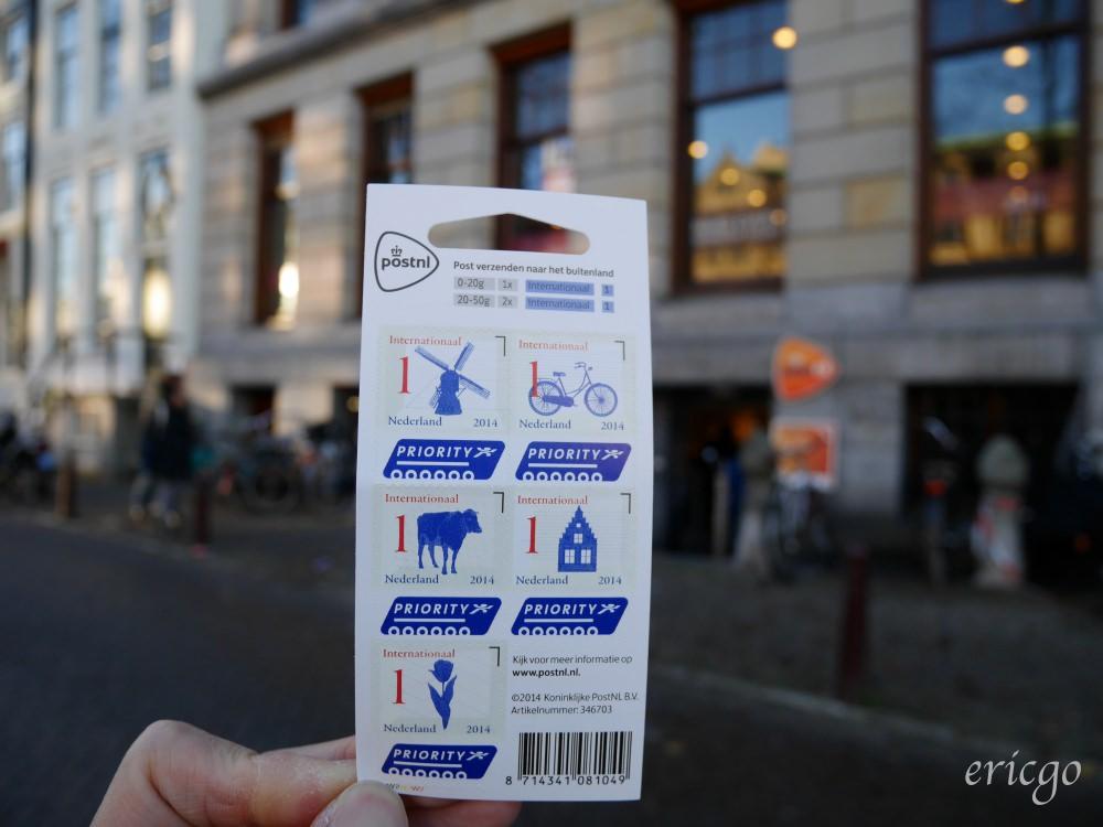 荷蘭|阿姆斯特丹自由行 – 阿姆斯特丹市中心郵局在哪裡?荷蘭的郵票超可愛!