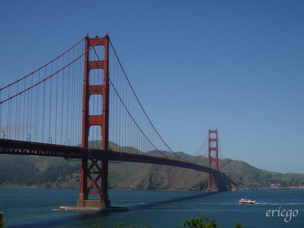 舊金山|金門大橋 Golden Gate Bridge – 舊金山第一名地標,我走上金門大橋啦!