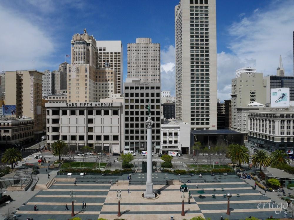 舊金山|聯合廣場 Union Square – 隱藏版拍照點、最佳景觀星巴克、周邊購物推薦