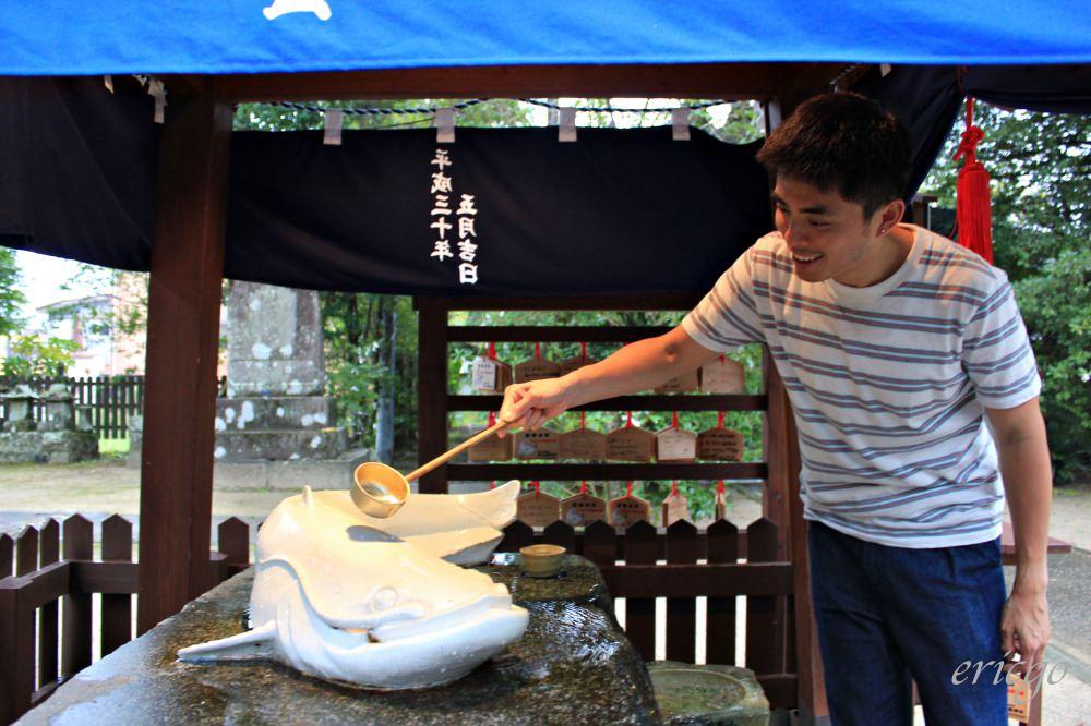 佐賀|嬉野溫泉景點推薦 -「豐玉姬神社」祈求肌膚嫩滑,足部蒸汽浴好好玩!