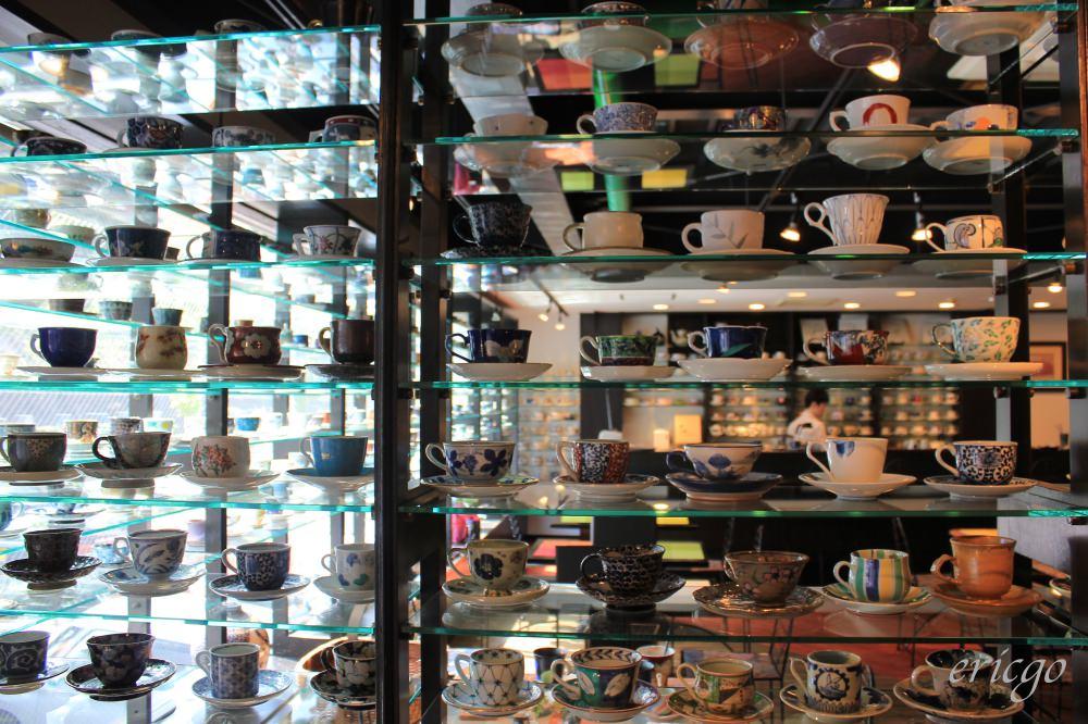 佐賀|Gallery有田 有田燒咖啡廳 – 佐賀特色餐廳推薦,2000個有田燒咖啡杯任君挑選