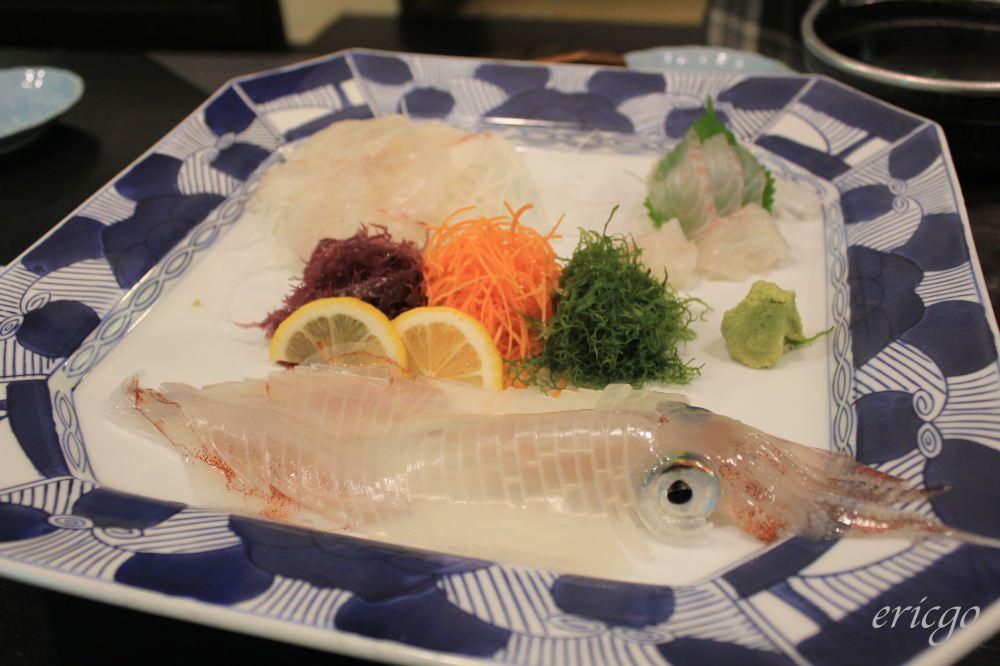 佐賀|萬坊 – 呼子必吃海中餐廳,烏賊生魚片、烏賊燒賣、烏賊天婦羅 美味三吃