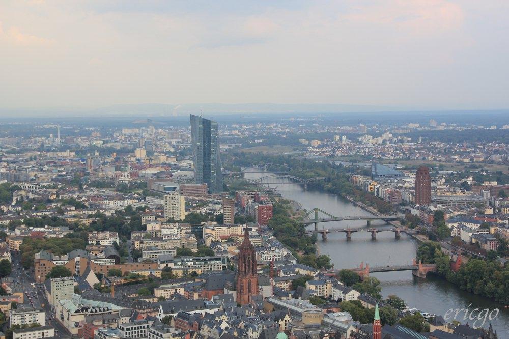 法蘭克福|美茵塔 Main Tower – 德國也有高空展望台,一覽美因河畔迷人美景