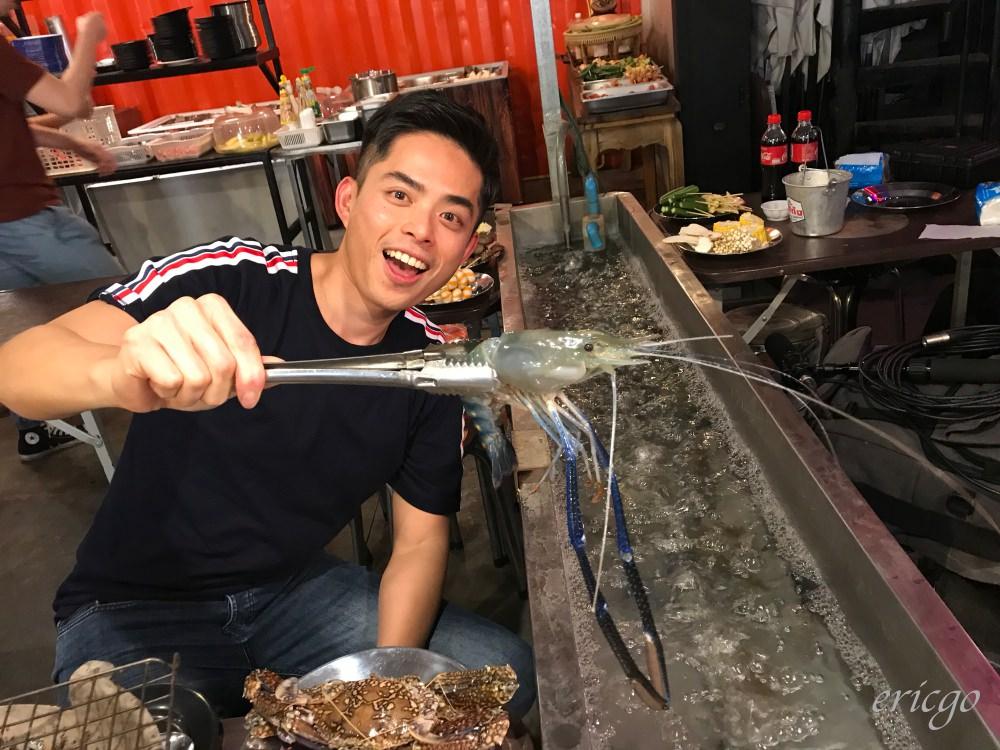 曼谷|Taikong Seafood – 泰國流水蝦吃到飽,水門商圈Talad Neon霓虹夜市必吃!
