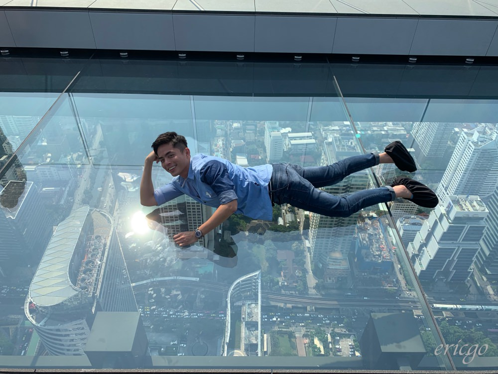 曼谷|Mahanakhon SkyWalk – 泰國最高大樓,挑戰世界最大高空玻璃棧道景觀台!