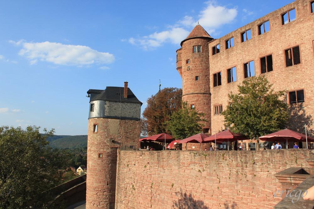 威爾特海姆|Wertheim – 德國法蘭克福近郊絕美小鎮,搭復古小火車訪古堡遊古城
