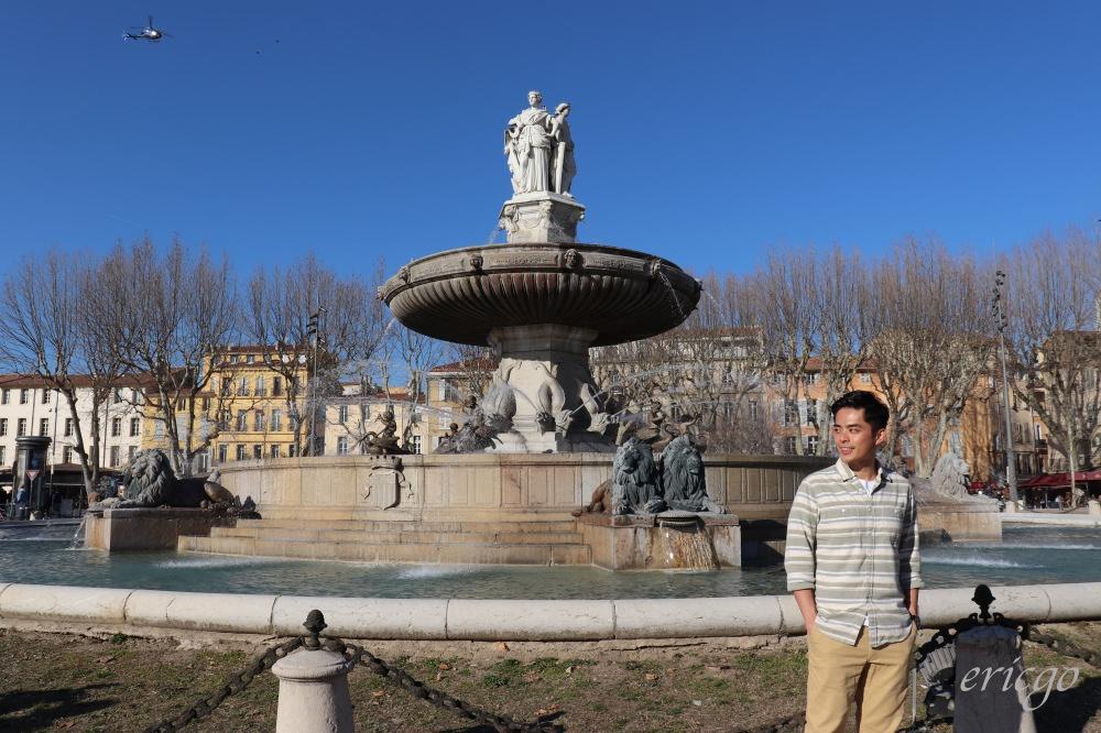 普羅旺斯|艾克斯普羅旺斯Aix-en-Provence – AIX噴泉之都一日遊、AIX景點美食推薦