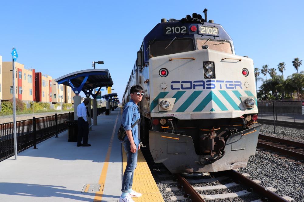 加州|COASTER Commuter Rail 海岸快鐵 – 連結San Diego聖地亞哥及Oceanside的加州海景火車之旅
