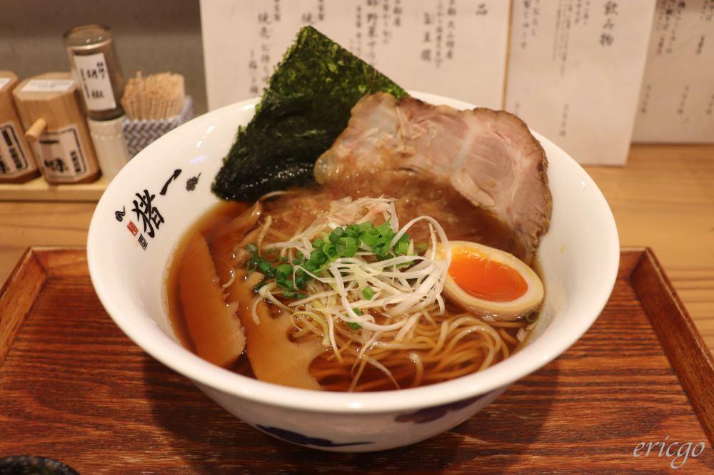 京都|麺屋 猪一 離れ – 京都必吃米其林推薦,多層次清爽魚介系黑白醬油拉麵