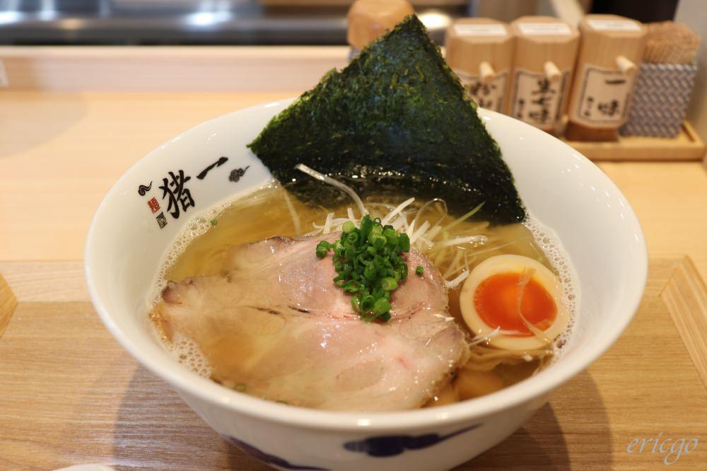 京都|麺屋 猪一 – 2019全新開幕京都必吃拉麵推薦,超美味招牌黑白醬油蕎麥麵