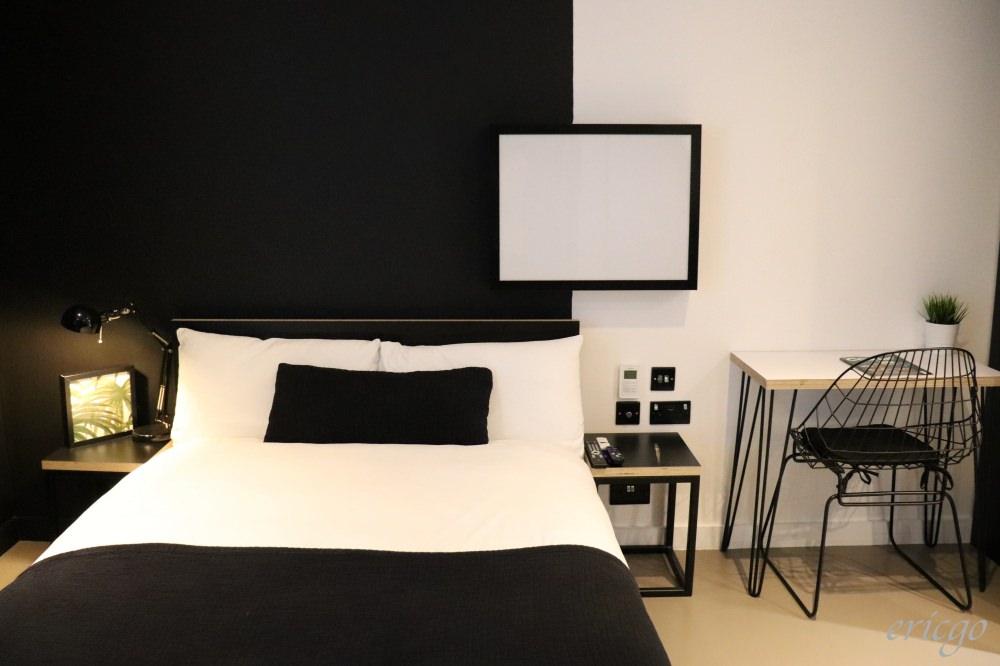 倫敦|KIP Hotel – Hackney Central站旁1分鐘,黑白風格設計感平價住宿推薦