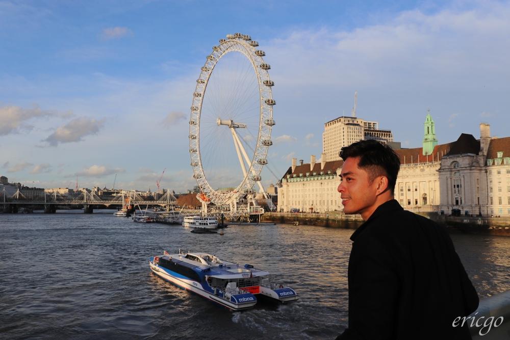倫敦|倫敦眼 London Eye – 英國倫敦必訪景點,轉動流連於泰晤士河畔的千禧摩天輪