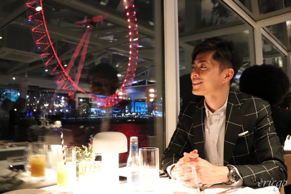 倫敦|Bateaux London 泰晤士河遊船晚宴 – 一次擁有美食美景的浪漫玻璃船之旅