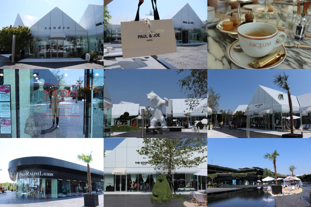 里昂|The Village Le French Outlet – 里昂近郊購物新選擇,法國知名甜點Angelina里昂唯一分店!