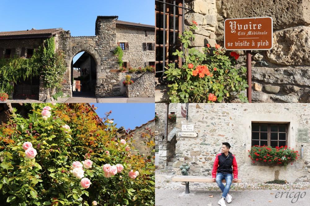 伊瓦爾|Yvoire 伊瓦爾 – 三大法國最美村莊之一,花朵與石頭砌成的美麗古城