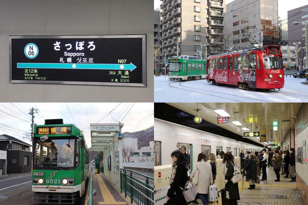 札幌|札幌地下鐵&札幌市電 – 札幌自由行、地鐵一日券、交通路線圖、市電搭乘方式