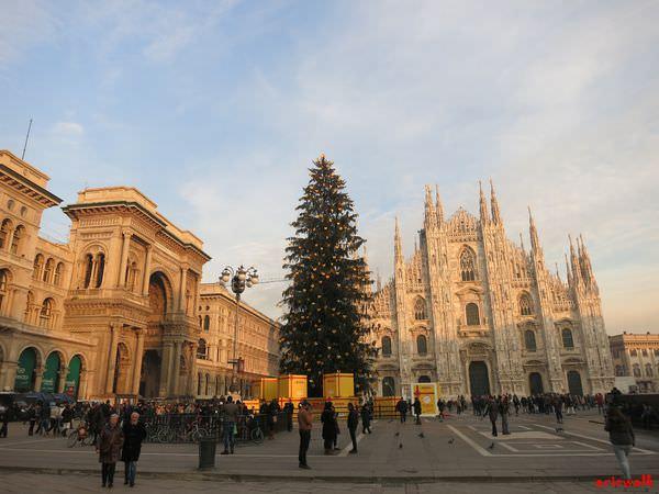 [義大利] 米蘭地標: 米蘭大教堂 & 艾曼紐二世拱廊 – 廣場介紹及大教堂參觀注意事項