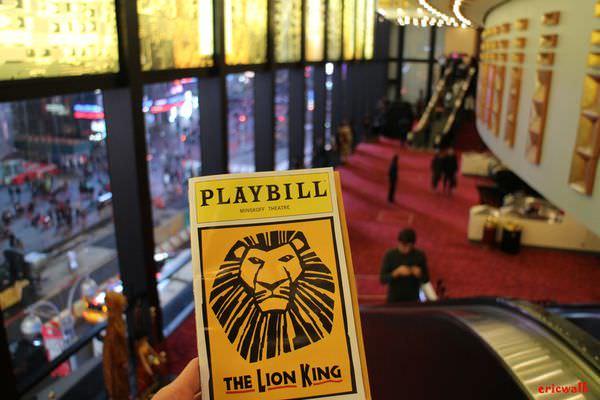 [紐約] 【獅子王】百老匯音樂劇 – 紐約必看百老匯,戲院介紹及中文購票!