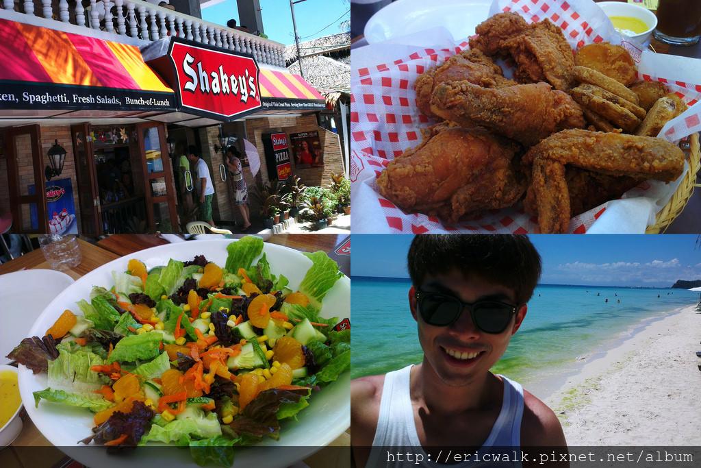 [2013 長灘島] Shakey's 美式餐廳 – 長灘島也有好吃的美式炸雞、義大利麵、美式沙拉