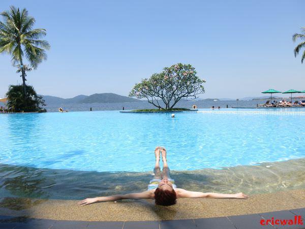 [沙巴] Shangri-La's Tanjung Aru Resort & Spa 香格里拉丹絨亞路飯店 -超美景觀游泳池,沙巴亞庇飯店推薦