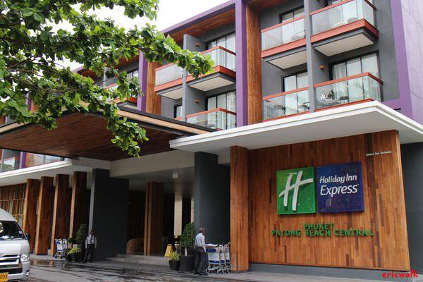 [普吉島] Holiday Inn Express – 普吉島平價連鎖飯店,巴東海灘只要1分鐘