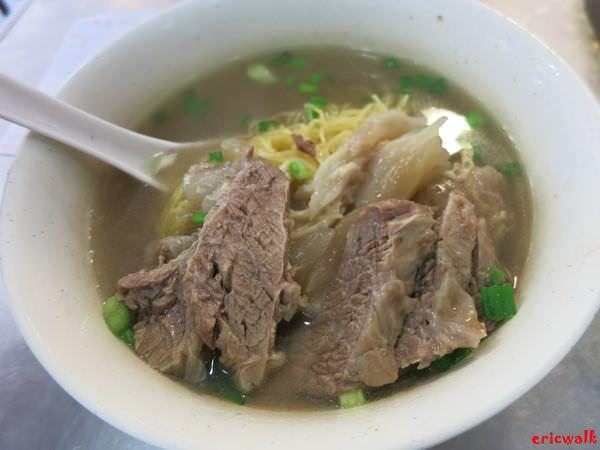 [香港] 北角: 華姐清湯腩 – 美味清爽、料多實在的超美味牛筋牛腩湯麵推薦