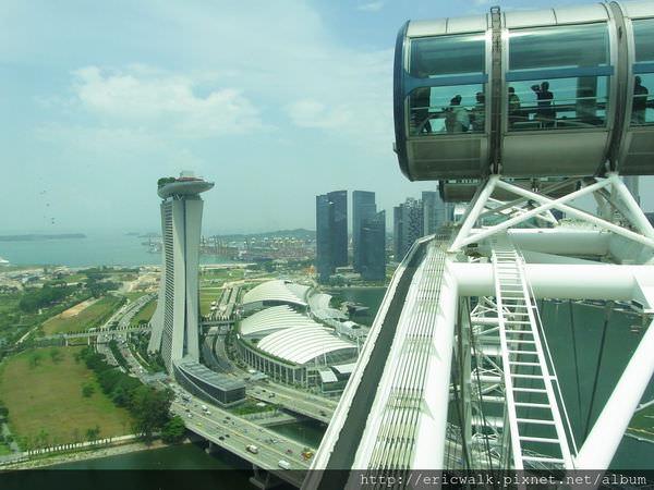 [新加坡] Singapore Flyer摩天輪 – 世界最大摩天輪上一覽無遺的新加坡美景