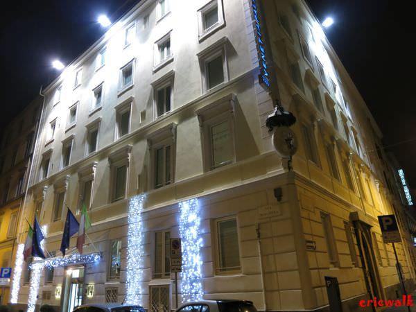[義大利] Venetia Palace Hotel – 羅馬住宿推薦,Termini車站旁五分鐘,北歐風格簡約新穎飯店