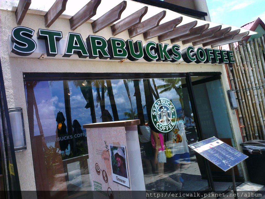 [2013 長灘島]  長灘島唯一STARBUCKS星巴克咖啡 – 長灘島及馬尼拉咖啡杯