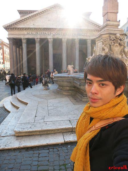[義大利] 羅馬景點 Pantheon 萬神殿 – 獻給羅馬天神們的神聖殿堂