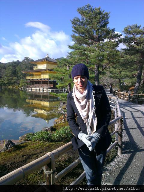 [2012冬-京都] 金閣寺 – 京都世界文化遺產,金碧輝煌閃耀動人的黃金寺院