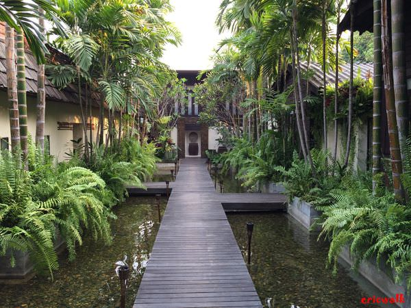 [清邁] 古城區 Fah Lanna Spa – 隱藏清邁古城中的秘密庭園,中價位、免費接送