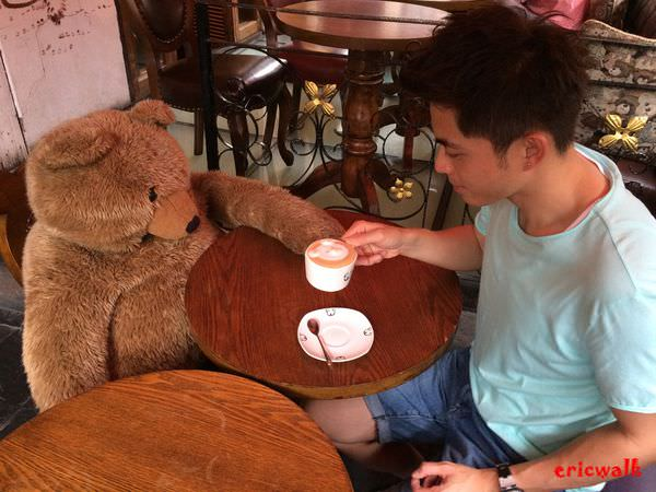 [上海] 田子坊【泰迪之家】- 跟熊熊們來杯可愛的小熊拉花拿鐵吧