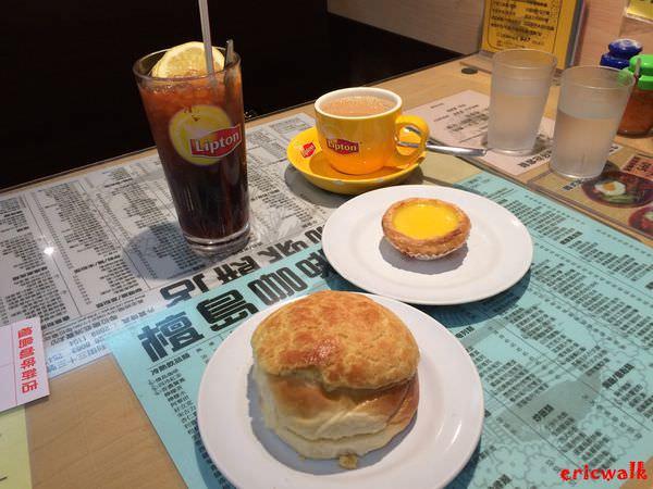 [香港] 檀島咖啡餅店 – 中環必吃遠近馳名、好罪惡但是好美味的蛋塔加菠蘿油