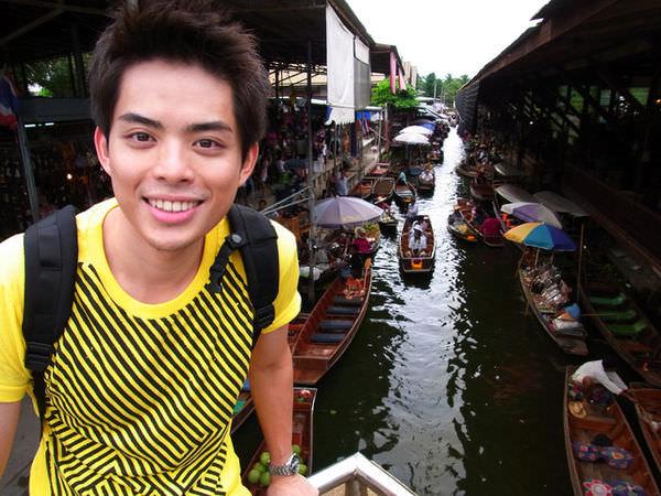 """[曼谷] Damnoen Saduak Floating Market 丹嫩莎朵水上市場""""泰""""特別"""