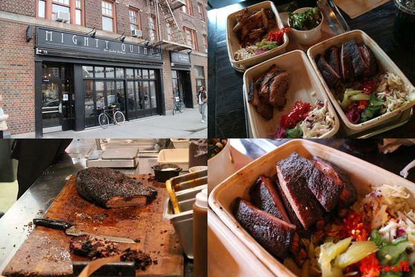 [紐約] Mighty Quinn's Barbeque – 紐約人氣BBQ餐廳,牛胸、肋排、手撕豬肉!