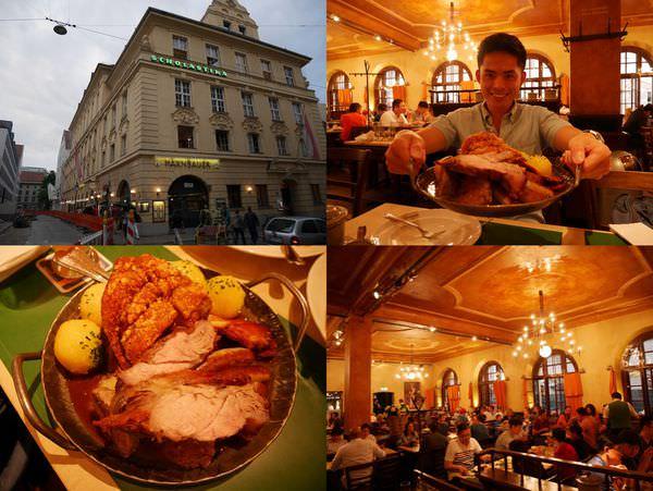 [慕尼黑] Haxnbauer 慕尼黑餐廳 – 氣氛好、服務佳,瑪麗恩廣場旁必吃美味傳統德國餐廳推薦